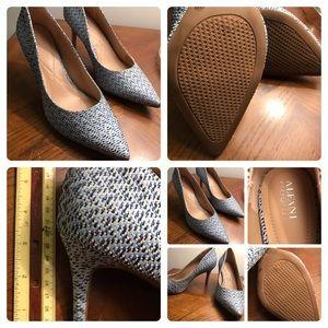 Never Worn fabulous woven heels